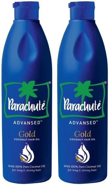 Parachute Advansed Gold Coconut Hair Oil Combo Hair Oil
