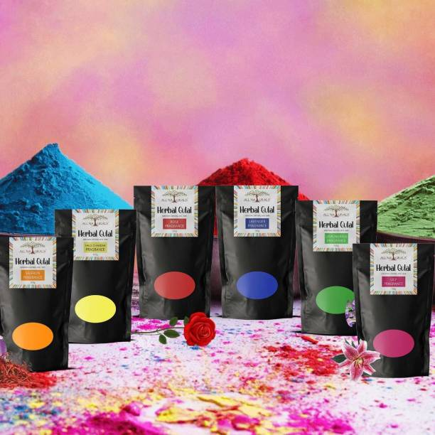 All Naturals Holi Color Powder Pack of 6