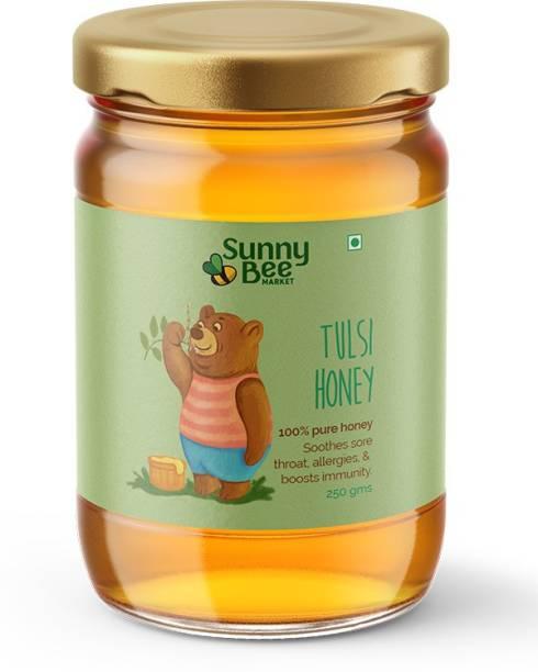 SunnyBee MARKET Tulsi Honey (added flavour)