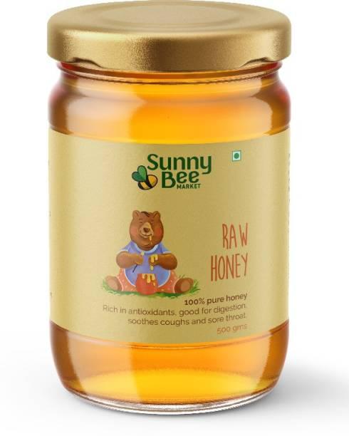 SunnyBee MARKET Raw Honey