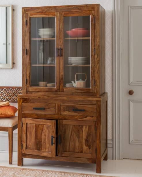 Angel Furniture Crockery Solid Wood Crockery Cabinet