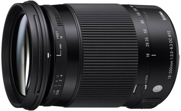 SIGMA 18-300mm F3.5-6.3 DC Macro OS HSM Contemporary  for Nikon  Lens