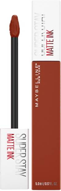 MAYBELLINE NEW YORK Super Stay Matte Ink Liquid Lipstick x Rogue Reds, 300, Front Runner