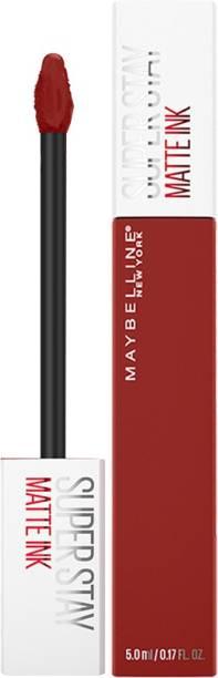 MAYBELLINE NEW YORK Super Stay Matte Ink Liquid Lipstick x Rogue Reds, 285 Gritty, 5ml