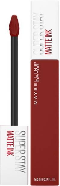 MAYBELLINE NEW YORK Super Stay Matte Ink Liquid Lipstick x Rogue Reds, 295 Dauntless, 5ml