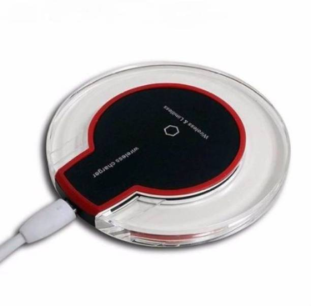 JRTech Wireless ufo shaped charger Crystal Clear Charging Pad Charging Pad