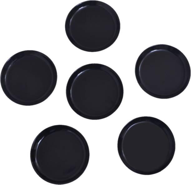 GOOFFI PLATE 7.5'' BLACK 06 Dinner Plate