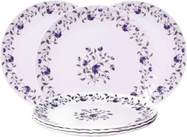 Royal Melamine Blue chain half plate Half Plate