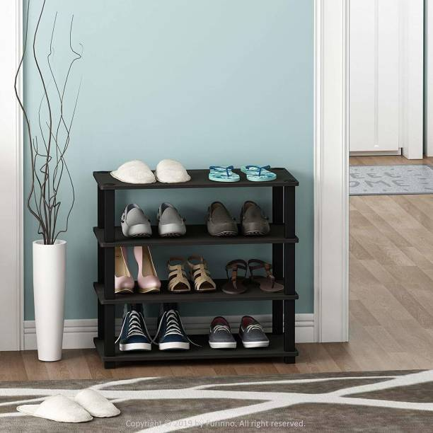 STOREDGE Solid Wood Shoe Stand