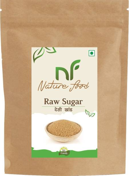 Nature food Best Quality Desi khand /Raw Sugar - 500gm ( Pack of 1) Sugar
