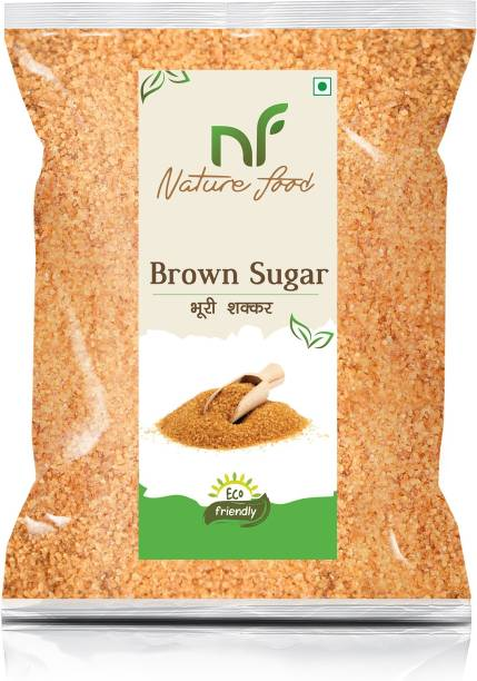Nature food Best Quality Brown Sugar - 2Kg (Packing) Sugar