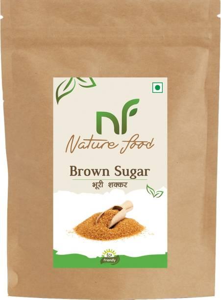 Nature food Best Quality Brown Sugar - 500gm (Pack of 1) Sugar