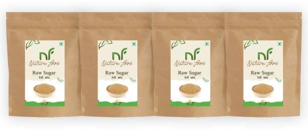 Nature food Best Quality Desi khand/Raw Sugar - 500gm ( Pack of 4) Sugar