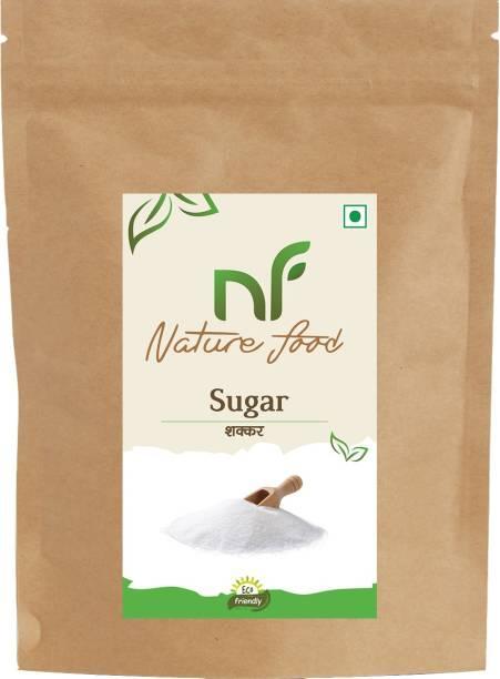 Nature food Best Quality White Sugar- 1kg (Pack of 1) Sugar