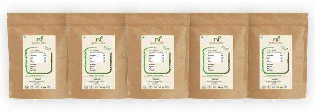 Nature food Best Quality Desi khand/Raw Sugar - 1kg (Pack of 5) Sugar