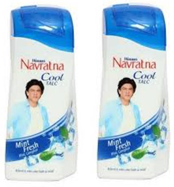 Navratna MINT FRESH COOL TALC PACK OF 2