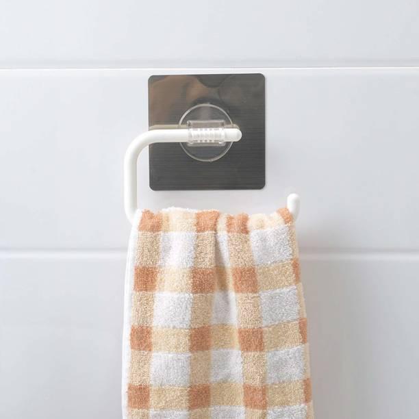 HOKiPO Magic Sticker Series Self Adhesive Kitchen/ Bathroom Napkin Plastic Toilet Paper Holder
