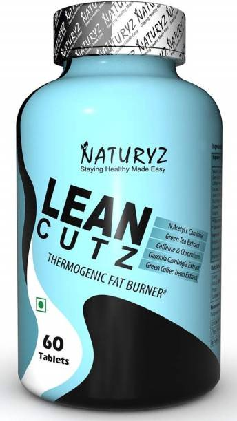 NATURYZ Lean cutz Thermogenic Fat Burner with Carnitine & 7 Extracts for Men & Women