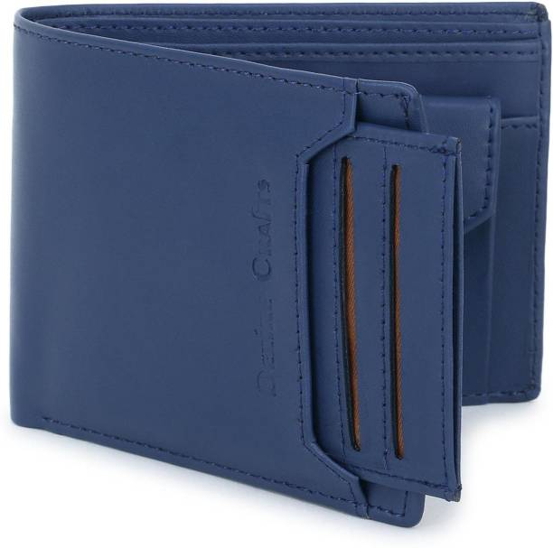 DEZiRE CRAfTS Men Formal, Casual Blue Artificial Leather Wallet