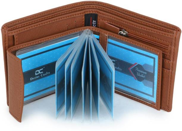 DEZiRE CRAfTS Men Casual, Formal Tan Artificial Leather Wallet