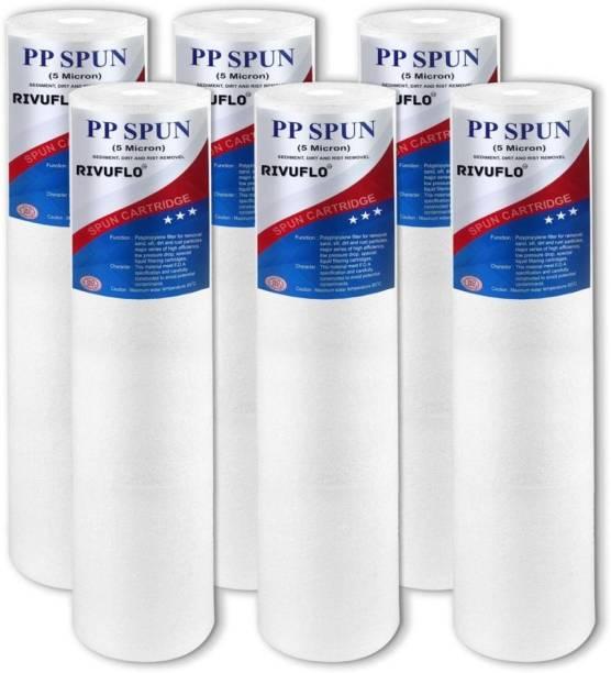 Rivuflo PP-spun-pack-6 Solid Filter Cartridge
