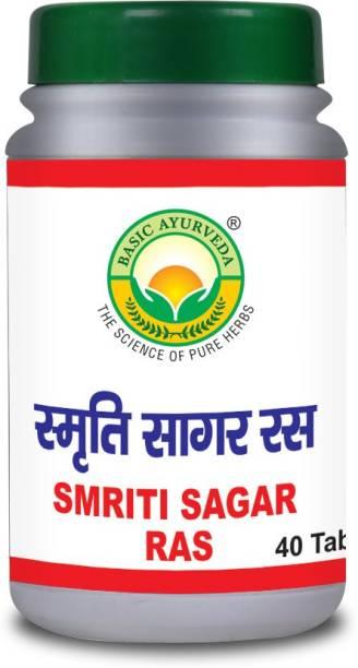 Basic Ayurveda Smriti Sagar Ras Pack Of 2