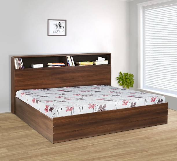 Delite Kom Urban Engineered Wood King Box Bed