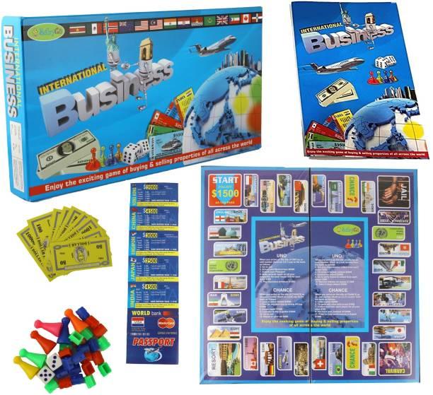 BabyGo International Business Board Game Toy for Kids Money & Assets Games Board Game