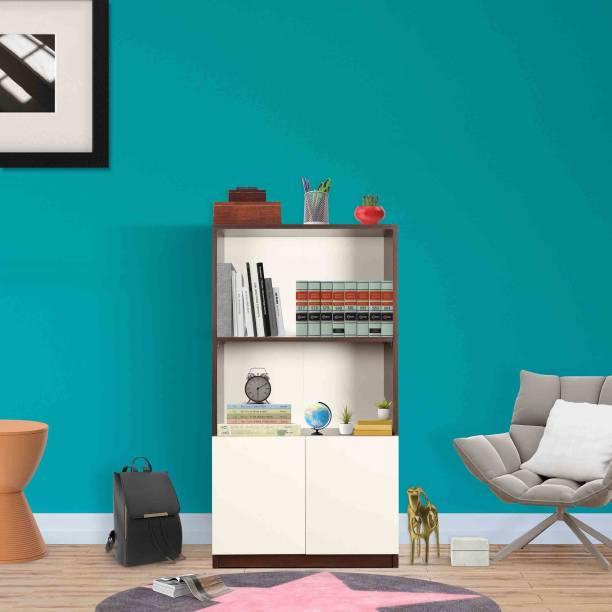 TREVI Ibis Engineered Wood Semi-Open Book Shelf