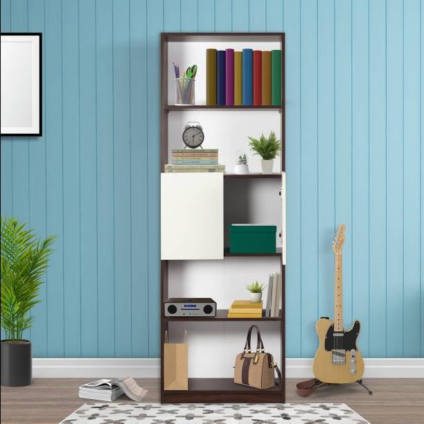 TREVI Eden Engineered Wood Semi-Open Book Shelf