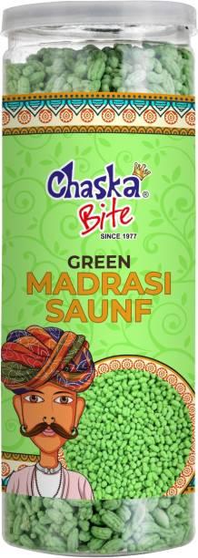 CHASKA BITE  Green Saunf Mouth Freshner Mukhwas Paan Flavour Madrasi Saunf  MINT Candy