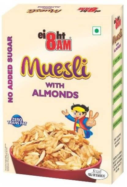 8AM by V.R. Industries (P) Ltd. Museli Almond No added Sugar