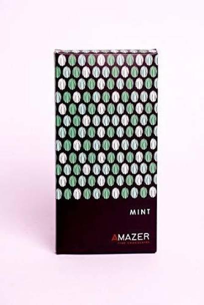 Amazer Nutritional Chocolate Bar Mint 80 GMS Nutritious, Healthy, Homemade Chocolate, Delicious & Nice Taste Bars