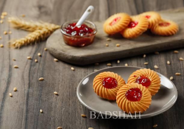 BADSHAH MILK RUSK Pack of 3 Cookies-Jam Cookies_Honey almond cookies_Dil cookies_300g Each Cookies