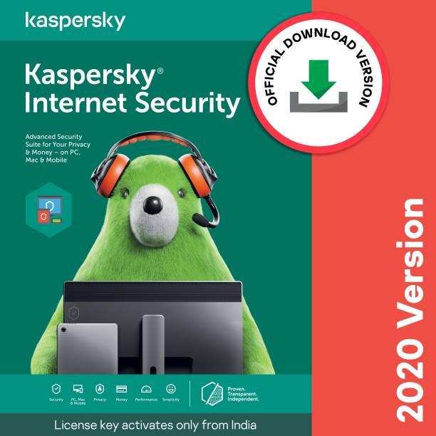 Kaspersky 3 PC 3 Years Internet Security (Email Delivery - No CD)