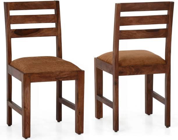CORAZZIN Sheesham Wood Solid Wood Dining Chair