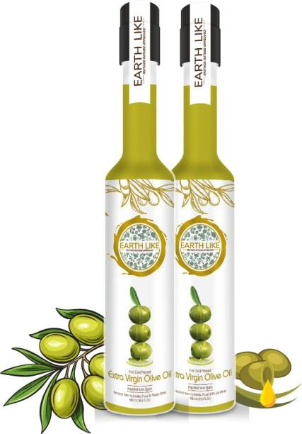Earth Like Extra Virgin Olive Oil 500ml - BUY 1 GET 1 FREE Olive Oil PET Bottle