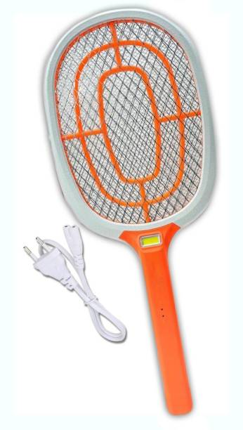 IDOLESHOP High Quality Mosquito Racket/Bat with Torch with Wire Charging Electric Insect Killer