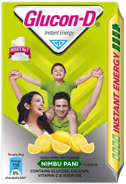 GLUCON-D Instant Energy Nimbu Pani 450g (Pack of 1) Energy Drink