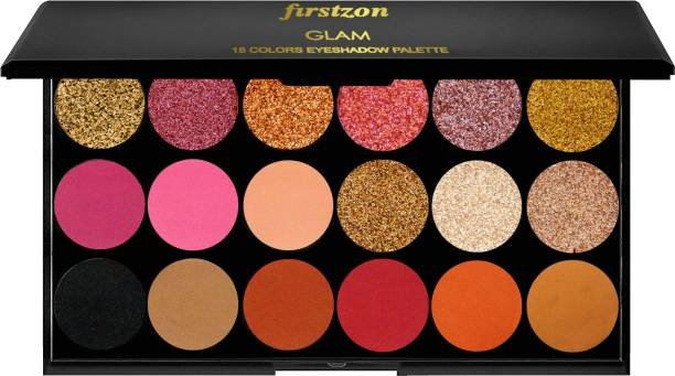 FIRSTZON 18 color shimmer powder eyeshadow combo pack shimmer eyshadow shimmer eyeshadow powder eyeshadow combo palette plus listing smoky eyeshadow 18 g