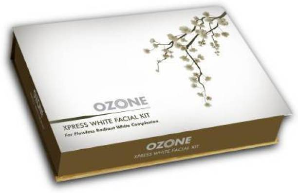 OZONE Xpress White Facial Kit For Flawless Radiant White Complexion-300 gm