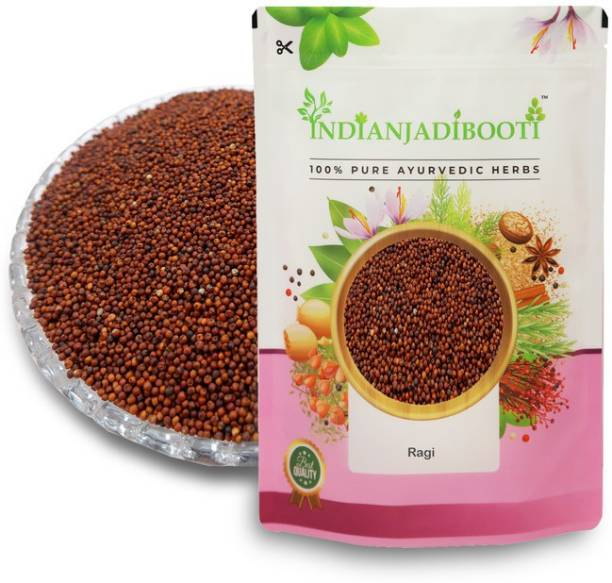 IndianJadiBooti Ragi, 400 Grams Pack