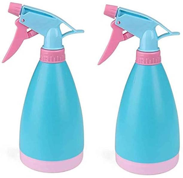 Runwet _Unbreakable Water Spray Bottles |500ML| Refillable Sprayer | Durable Trigger Sprayer with Mist & Stream Modes | Blue | White | Pink | Combo 0.5 L Hand Held Sprayer