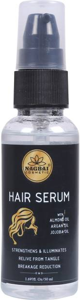 nagbai Hair Serum Heat Protectant | Pre Styler | Conditioner |Strengthens