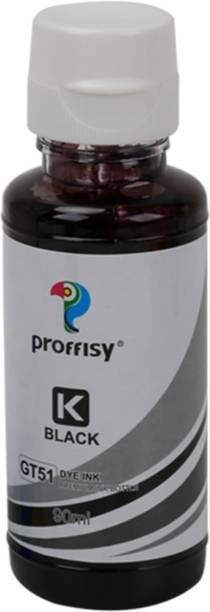 proffisy Ink Refill dye Ink for GT51 GT52 Compatible for Ink Tank 5810,5820,310,315,319,410,415,419 Tank Wireless Black Ink Bottle