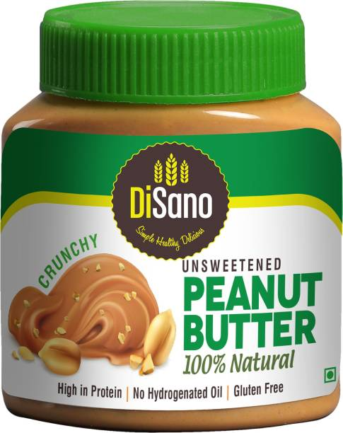 DiSano All Natural Peanut Butter (Crunchy Unsweetened) 1 kg