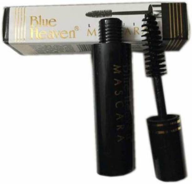 BLUE HEAVEN Mascara - Pack of 2 (Black) 6.5 ml