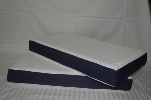 AerinArts Foam Solid Sleeping Pillow Pack of 2