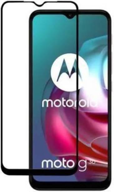 Desirtech Edge To Edge Tempered Glass for Motorola Moto G30,Motorola Moto G50