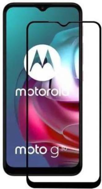 Desirtech Edge To Edge Tempered Glass for Motorola Moto G30